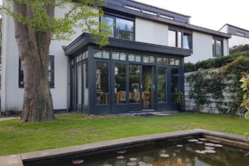 Moderne serre met lichtstraat te Maastricht 1